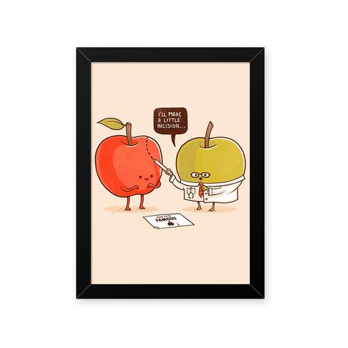 Quadro Fruta Estetica 23x33cm