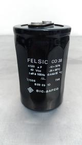 Capacitor Eletrolítico 47000uf 40v Felsic