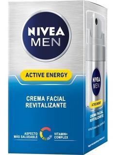 Nivea Men Crema Facial Active Energy Revitalizante 50ml