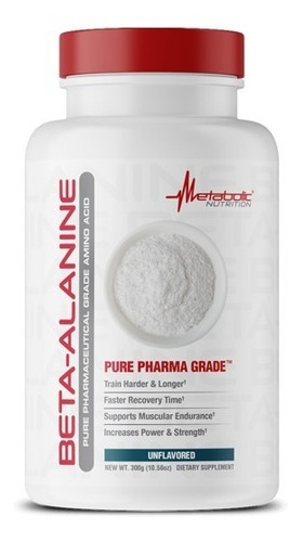 Beta Alanina 100 Serv 300gr Metabolic Nutrition