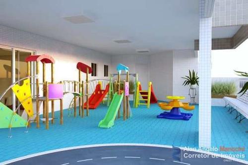 Apartamento Com 1 Dorm, Ocian, Praia Grande - R$ 255 Mil, Cod: 7 - V7