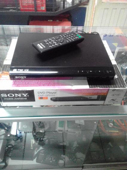 Reproductor De Dvd Sony Dvp Sr320 Con Su Caja Tienda