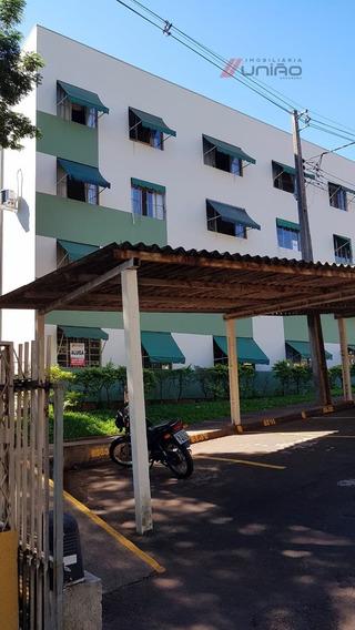 Apartamento Para Locação No Residencial Ouro Verde Ii, Com Área De 59,26m² Com 3 Quartos, Sala, Copa, Cozinha, Área De Serviço E Garagem. Em Zona Iii - Umuarama - 1430