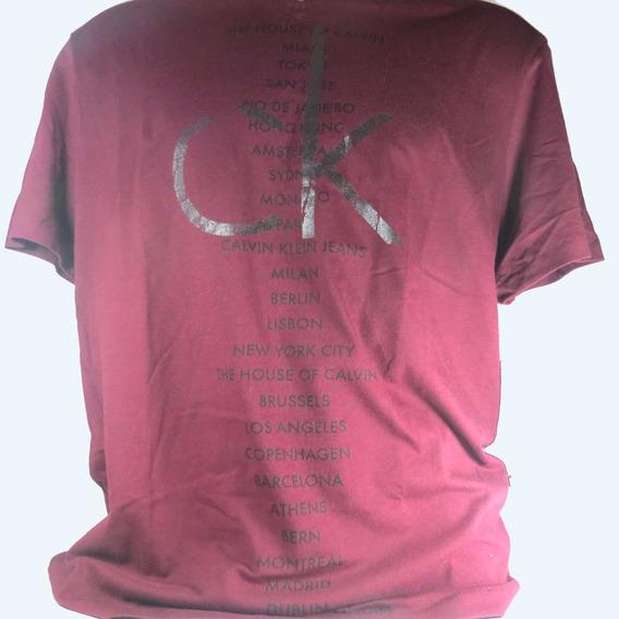 Camisa Ck Original Masculina Lilás Original