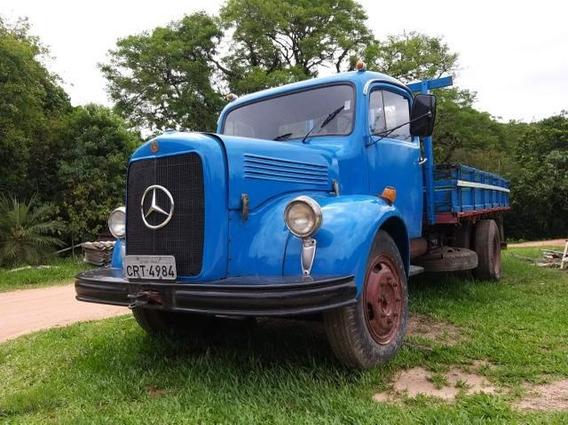 Caminhão Mercedes Motor L312 Torpedo