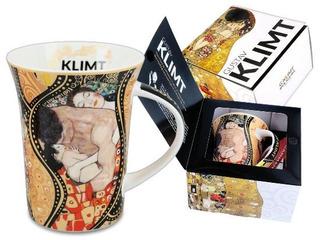 Taza En Porcelana 350 Ml Con Caja La Familia Klimt
