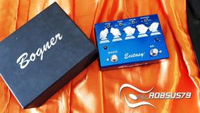 Pedal Bogner Ecstasy Blue Overdrive/boost
