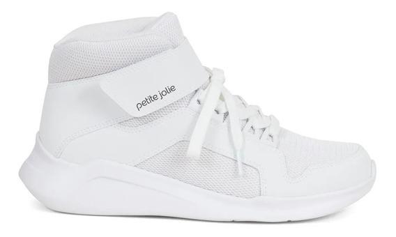 Tenis Hype Petite Jolie Branco Pj3975 Universo