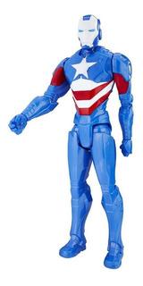 Muñeco Marvel Titan Hero Series 12-inch Iron Patriot