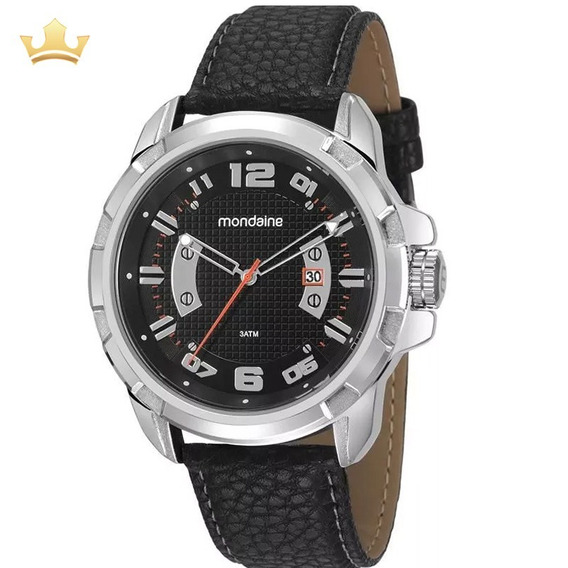 Relógio Mondaine Masculino 99275g0mvnh1 Com Nf