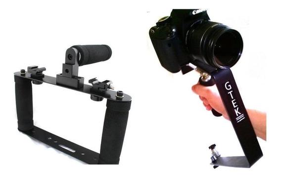 Estabilizador De Video Imagem P/ Celular Gopro Dslr Handycam