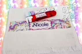 Kit Higiene Bucal Unicórnio