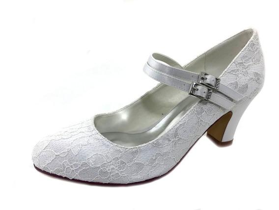 Zapatos De Novias Exlusivo Blancos