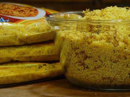Paçoca Salgada Com Carne De Sol (farofa) Delícia - 1kg