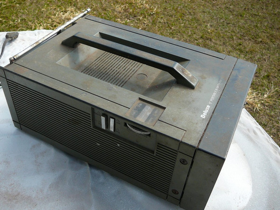 Mini Televisão 5 Polegadas - Preto E Branco