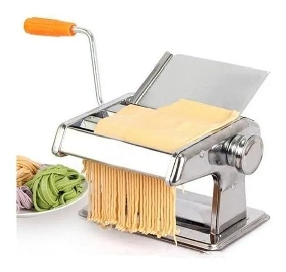 Maquina De Fazer Macarrão Talharim Espaguete Lasanha Pastel