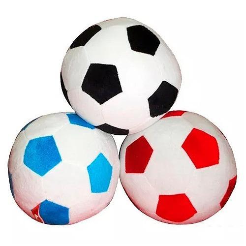Pelota Futbol Nro 3 Peluche Sonajero Ploppy 370914