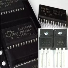 Kit 3 Ci E09a92ga + 3 Pares De Transistor A2222 E C6144