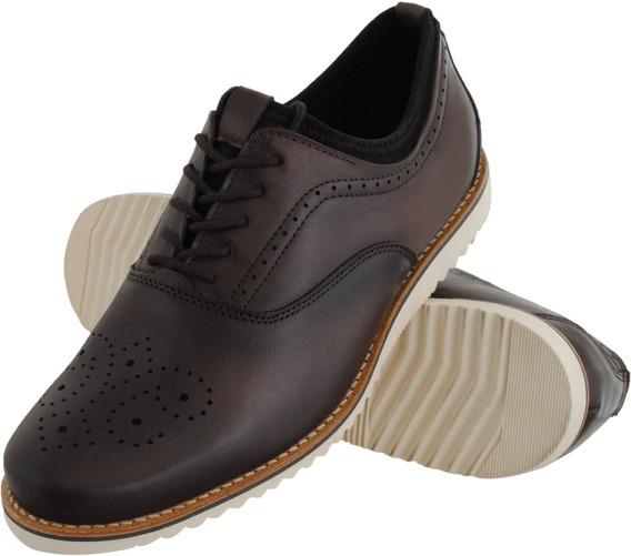 Sapato Masculino Oxford Neoprene Euroflex