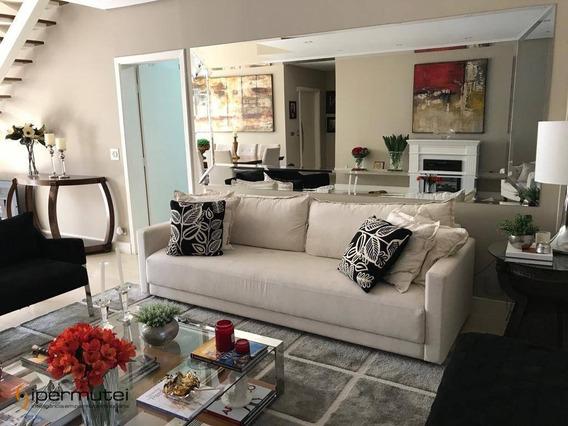 Ótimo Apartamento Com 4 Dormitórios À Venda, 274 M² - Bosque Da Saúde - São Paulo/sp - Ap1206