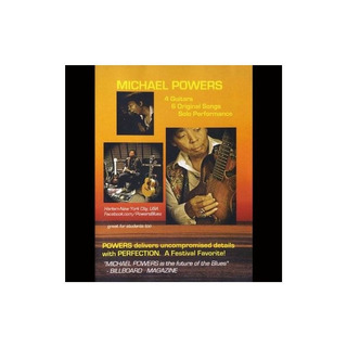 Powers Michael 4 Guitars 6 Originals Usa Import Dvd Nuevo
