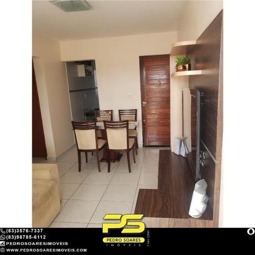 Apartamento Com 2 Dormitórios À Venda, 54 M² Por R$ 135.000 - Ernesto Geisel - João Pessoa/pb - Ap4801
