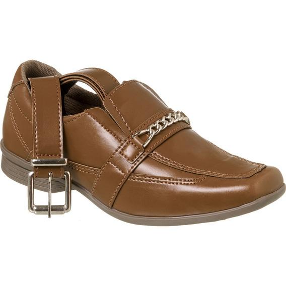 Sapato Social Com Cinto Infantil Menino Redmax A/b928-603