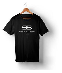 Kit Três Camisetas Balenciaga Fendi E Versace