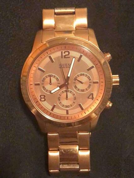 Relógio Feminino Dourado Rose Guess