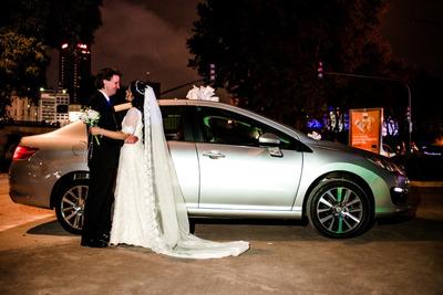 Alquiler De Auto Para Casamientos - 15 Años - Peugeot 408