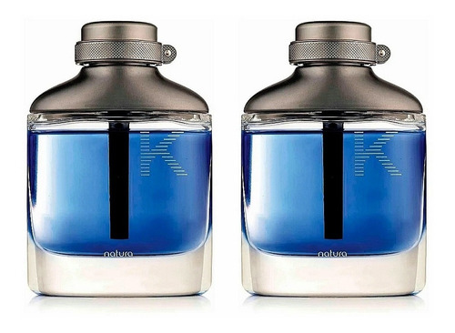 2 Perfumes K Eau De Parfum 100ml Natura - mL a $449