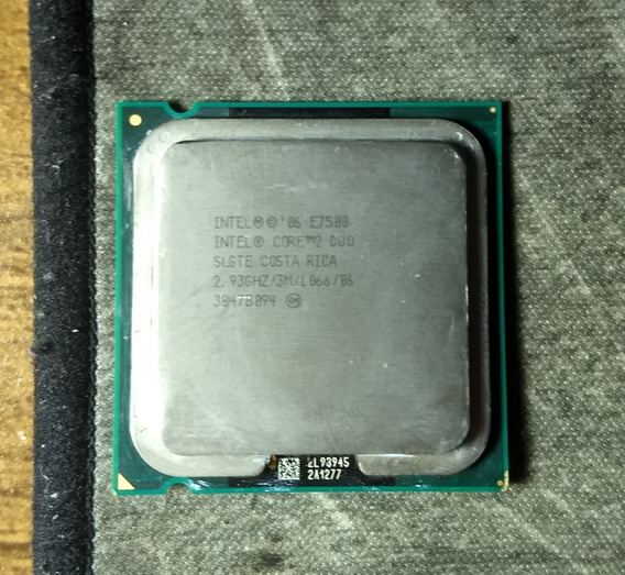 Core 2 Duo E7500 2.93ghz