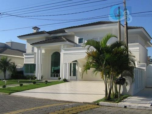 Imagem 1 de 19 de Casa À Venda, Condomínio Jardim Acapulco - Guarujá - Ca0696