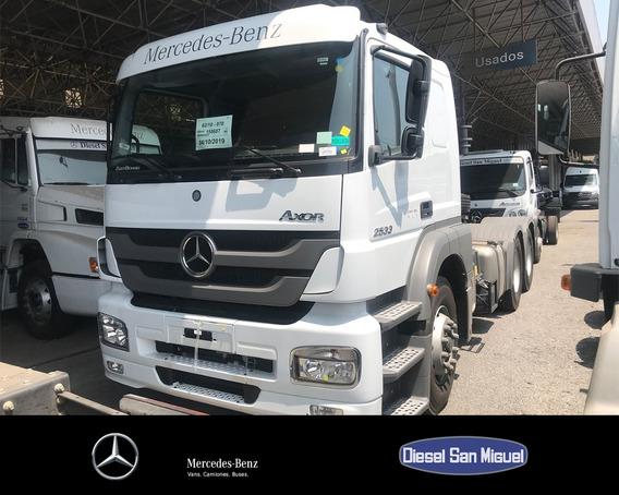 Mercedes-benz Axor 2533 Ls/36 6x2 Cd Tb - Blanco