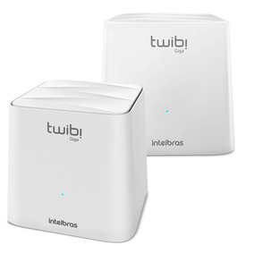 Roteador Intelbras Wireless Mesh Twibi Giga 2 Antenas Intern