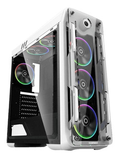 Gabinete Gamer Gamemax Optical Rainbow G510 White Rgb