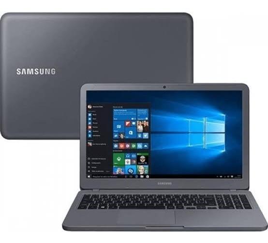 Notebook Essentials E20 Samsung / 15.6 / 500gb / 4gb Cinza
