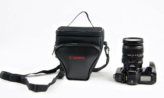 Bolsa Reflex Triângulo Cânon Para Camera E Acessórios T6/t7