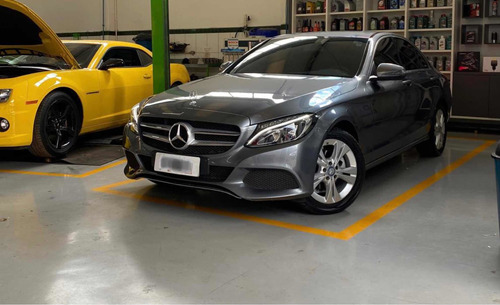 Mercedes-benz Classe C 2017 1.6 Exclusive Turbo Flex 4p