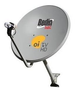 Antena Parabólica De Tv Banda Ku Chapa 60 Centímetros Set Be