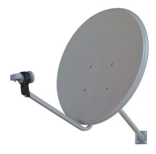 Antena Banda Ku 60 Cm Logo Sky A Pronta Entrega