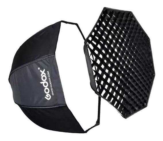 Octabox Softbox Godox 120cm Universal Com Grid