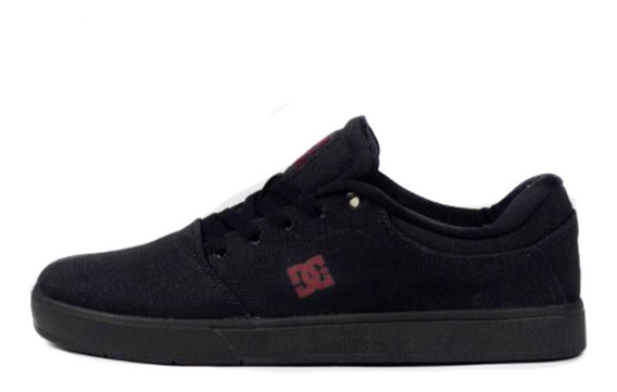 Tênis Dc Shoes Skate Crisis Tx La Black/dark Grey Original