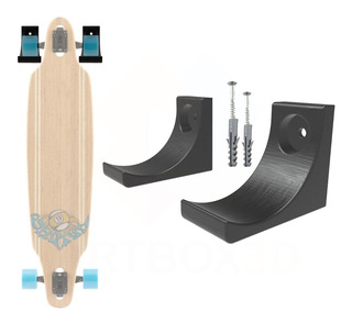 Suporte Parede Universal Skate Longboard - Pronta Entrega