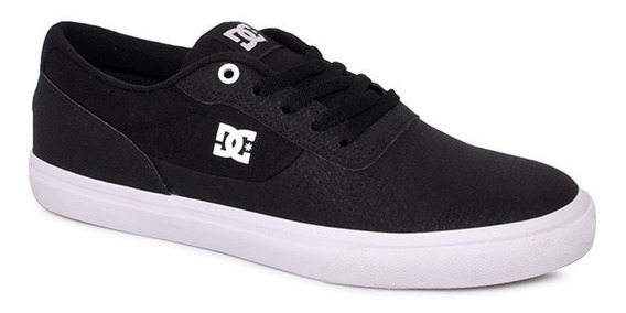 Tênis Dc Shoes Switch Le Preto/branco/preto