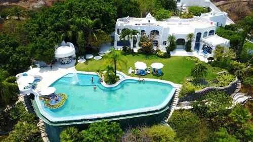 Vendo Excelente Casa Habitación A La Orilla Del Lago De Tequesquitengo