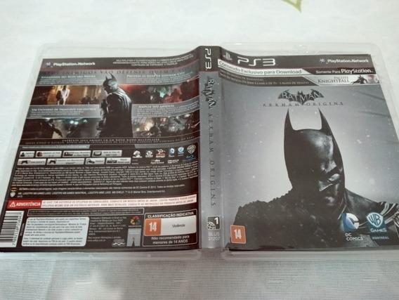 Batman Origins Ps3 Play3 Dublado V5#c