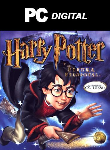 Harry Potter 1 La Piedra Filosofal Pc Español / Digital