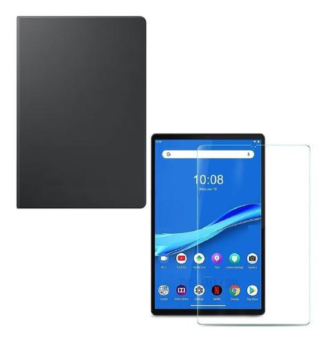 Estuche + Vidrio Para Tablet Lenovo M10 Plus X606f