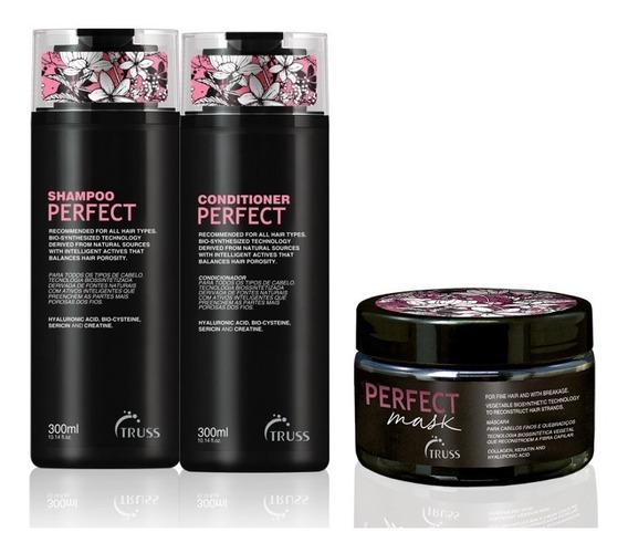 Truss Herchcovitch Alexandre Perfect Shampoo + Cond. + Masc.